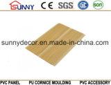 Painel de teto de PVC de madeira Painel de parede de PVC Painel de plástico Cielo Raso De PVC