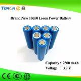 Fabrikant 18650 van de Macht van de Batterij het Volledige 3.7V 2500mAh Lithium Van uitstekende kwaliteit van de Capaciteit