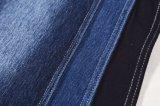 Tessuto di lavoro a maglia del denim di stirata del cotone della saia per i jeans