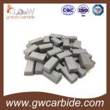 Напаянные режущие части карбида вольфрама K10