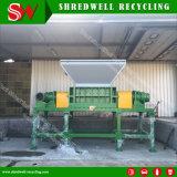 Máquina Waste do Shredder do pneu de Shredwell para pneumáticos usados com PLC de Siemens