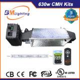 630W terminados doble CMH 600W HPS crecen los kits ligeros para el sistema del hidrocultivo