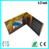 Cartão do LCD para anunciar para a melhor venda