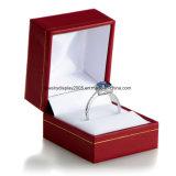 Caja de regalo de la joyería del anillo rojo: Colección del carnaval
