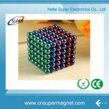 Esfera magnética do ímã do cubo 5mm 216 magnéticos neo mágicos Neodym do enigma