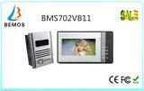 Téléphone visuel de porte de 7 pouces avec la vision nocturne de l'intercom 1-Camera 1-Monitor de sonnette