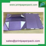 Kundenspezifischer prägender Luxuxdrucken-Verpackungs-Pappgeschenk-Kasten-Schmucksache-Kasten-Ablagekasten