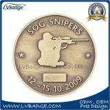 Moneta Custom Designed del metallo della moneta di anniversario