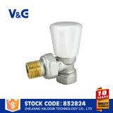 Válvula de cobre amarillo del radiador del surtidor de Valogin China (VG-K17101)
