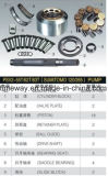 Kayaba Psv2-55tのシリンダブロックピストンSapreの部品のための置換油圧ポンプエンジン部分