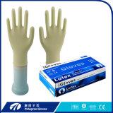 Malaysia-medizinischer Latex-Wegwerfhandschuh