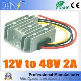 12V à C.C. de 48V 2A 100W ao impulso da C.C. intensificam reguladores dos conversores de potência do carro