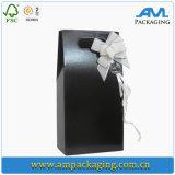 Festivo anunció el rectángulo de regalo de lujo del caso de empaquetado de la espuma del vino para el amante