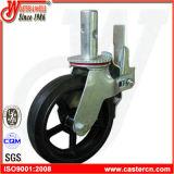 Gietmachine de Van uitstekende kwaliteit van de Steiger van de leverancier met het Wiel van 8 Duim TPU