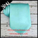 Lazo verde Mint tejido telar jacquar de la seda del 100% para los hombres