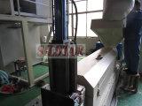 Il film di materia plastica residuo ricicla la macchina
