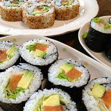 Taglierina utilizzata del rullo di sushi di Suzumo