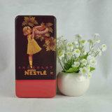チョコレートおよびキャンデーの錫のギフトの包装ボックスのための長方形の錫ボックス