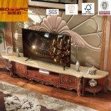 Module en bois solide du stand des meubles TV de salle de séjour/TV (GSP13-006)