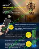 Unità di telecomando placcata del franco del tasto con la ricevente ed il trasmettitore