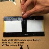 Onda V989 V989 8 핵 건전지 Onda V975I 쿼드 코어 V975W 건전지 5 선