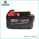 Li-ион M18 замены 18V 5000mAh батареи електричюеского инструмента для Milwaukee