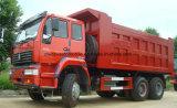4X2 10 바퀴 Sinotruk 덤프 트럭 22 톤