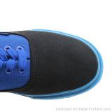 2017新しいデザインキャンバスの偶然の加硫させた靴
