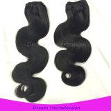 ボディ波の人間の毛髪の拡張バージンのブラジル人の毛