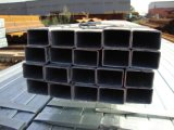 黒い正方形の管の穏やかな鋼鉄正方形の空セクション家具の管