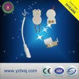 T5ld Tipo Tubo de tubo de LED com clipes de metal