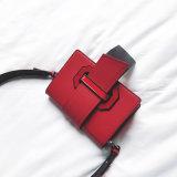 De Handtassen van de Vrouwen van de Kleur van het Contrast van de Zakken van de Stijl Pu Crossbody van de manier