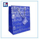 Las ventas al por mayor forman la bolsa de papel electrónica con insignia de encargo