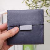 ハンドルのカスタムロゴの再使用可能な方法Foldableナイロンファブリックショッピング・バッグ