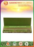 papel de balanceo del color de 12.5GSM que fuma Brown con 1 1/4 talla