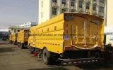 De Veger van de Straat van Dongfeng 4X2 de Vacuüm Schoonmakende Vrachtwagen van 8000 L