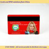 Voll PVC-Karte mit Gold / Silber Prägenummer gedruckt