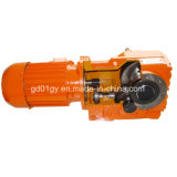 GS Series Excelente qualidade Helical Worm Geared Motor para Beterraba Slicers