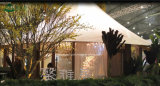 Tente campante en aluminium de luxe classique Hall de vente Heated à vendre