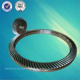 Pignon conique de spirale de Tableaux rotatoires d'équipement de forage de pétrole