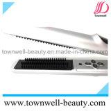 Cepillo de pelo electrónico Titanium con el tacto suave de Silve