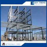 Taller prefabricado de la construcción del marco de acero