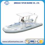 Barco de pesca de aluminio (cabina de centro 580)