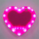 휴대용 LED 표시기 심혼 모양 힘 은행 4000mAh