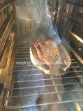 De Buena Calidad De acero inoxidable cocina comercial 6 bandejas horno de vapor eléctrico combinado