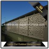 Landhaus-Garten-Dekoration-Puder beschichtete Laser-Schnitt-Metallaluminiumgarten-Zaun-Panels