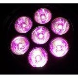 Luz al aire libre delgada barata al por mayor de la IGUALDAD de 7X10W 4in1 LED para la iluminación del jardín