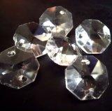 Piezas cristalinas para las lámparas que encienden los accesorios cristalinos pendientes