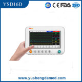 Alto monitor paciente calificado Ysd16D del equipamiento médico aprobado del Ce