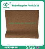 Multicolor Organic Eco Cork Yoga Mat Meilleur mat en mousse